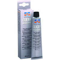 Permatex® 80050 Clear RTV Silicone Adhesive Sealant - 85 gr (35552)