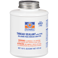 Permatex® 80633 Thread Sealant with PTFE - can 473 ml